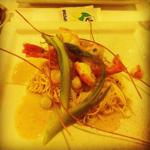 Spaghetti ai gamberi by Davide Restivo