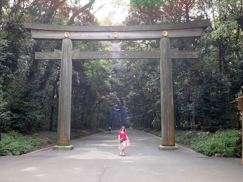 Gate to Meiji Shrine