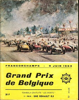 Formula 1 Grand Prix of Belgium - Spa Francorchamps - 9 June 1963