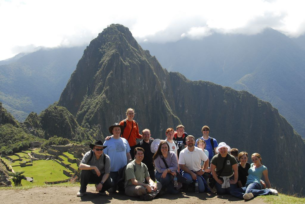 Idaho State University Chamber Choir at Machu Picchu in Peru