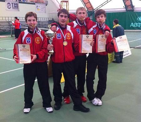 Юшманов Егор - Чемпион России в командном первенстве по теннису
