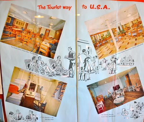 Cobh Vintage Cruise Travel The Tourist way to U.S.A