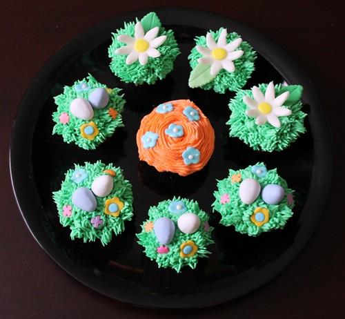 Spring mini cupcakes - 2