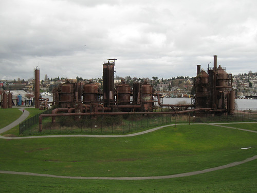 Seattle Rides 1: Winter 2012 - Gasworks Park