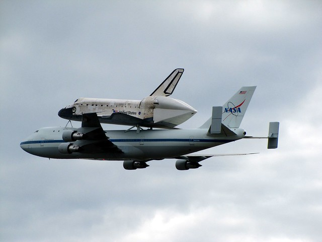 space shuttle carrier 747 american airlines - photo #10