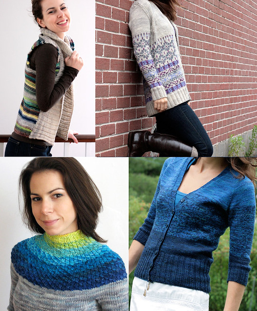 2012 colour KAL inspiration - sweaters!