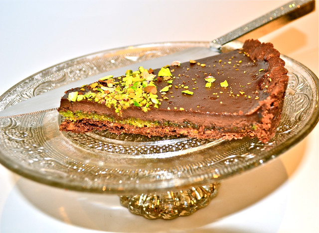 Milk Chocolate-Pistachio Tart Recipes — Dishmaps