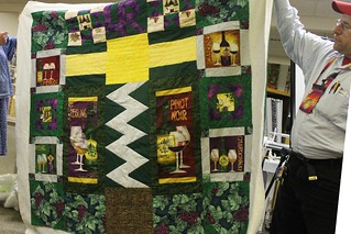 Wine Quilt by Brian