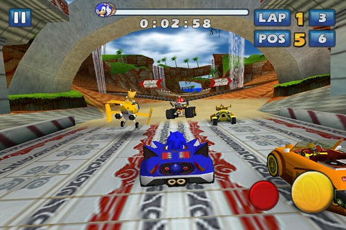 Sonic & SEGA All-Stars Racing - iOS Update