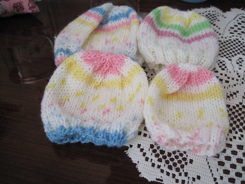 baby hats by rubylulu