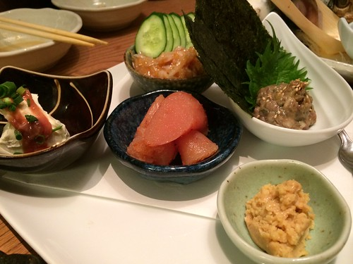 日本酒のアテたち@渋三魚金