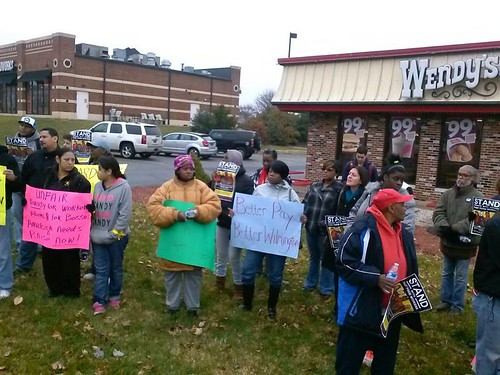 State's fast food workers demand fair wages as part of a growing movement