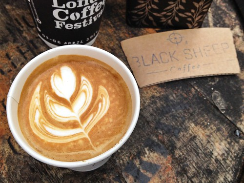 Black Sheep Coffee Cart, Old Truman Brewery