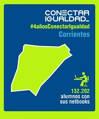 Provincia de Corrientes. Conectar Igualdad 4 AÑOS