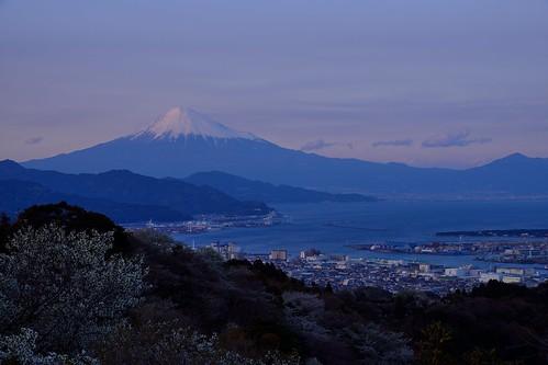 fujisan 夕景 富士山 mtfuji 日本平 清水港