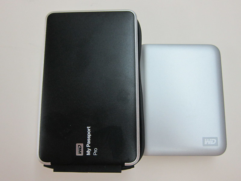 Western Digital My Passport Pro - With Western Digital My Passport Essential SE