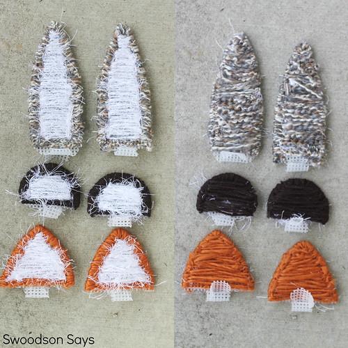 Bear Fox & Bunny Plastic Canvas Animal Ears DIY - Swoodson Says