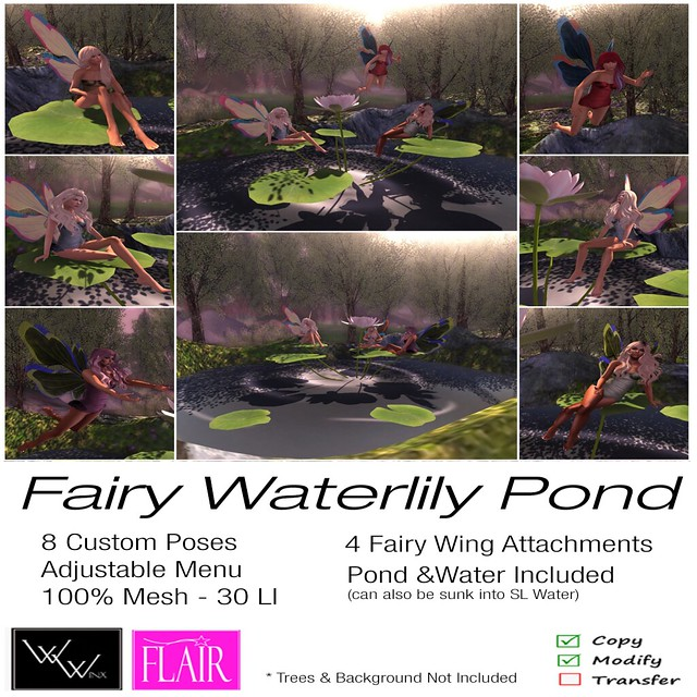 W. Winx & Flair - Fairy Waterlily Pond