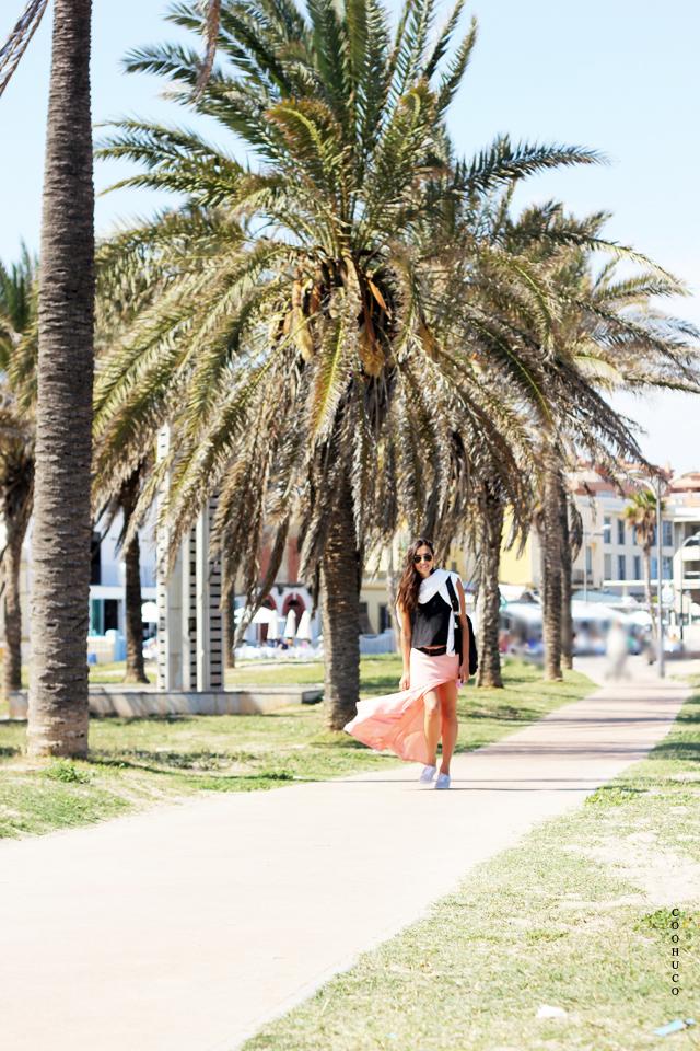 pink skirt blogger 4