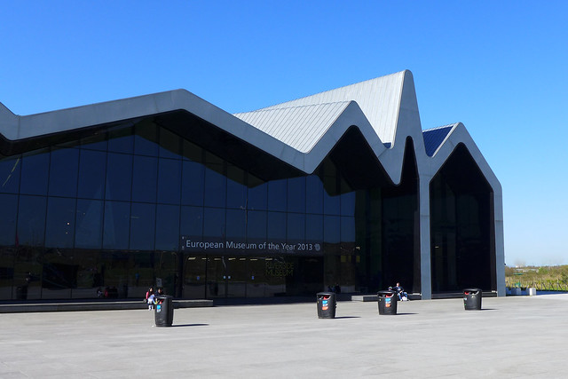 Riverside Museum Frontage