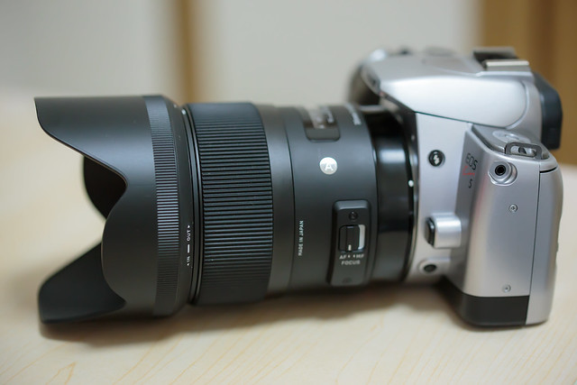 EOS Kiss 5, SIGMA 35mm F1.4