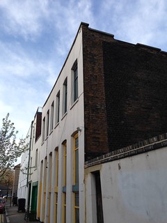 Ghost sign, Hackney Road, London E2