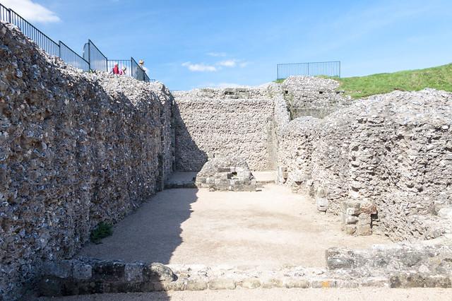 Ruins at Old Sarum