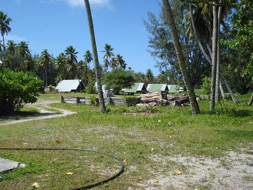 Conservation staff houses, Desroches Island