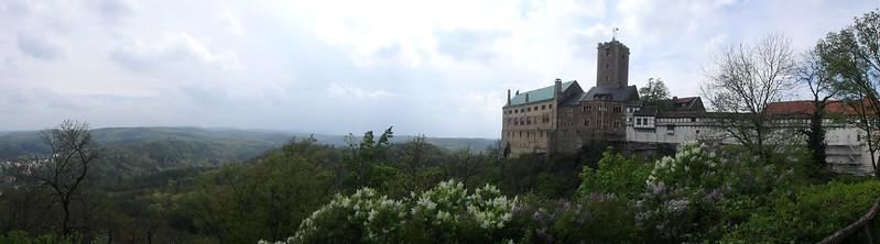 P4210005 Pano Castillo de Wartburg Unesco Alemania