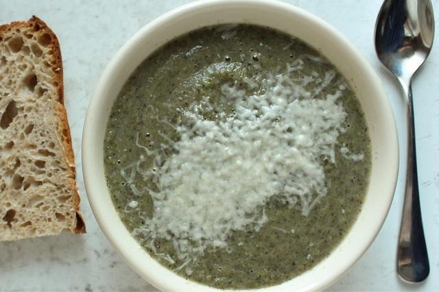 broccoli mushroom soup