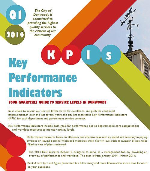 http://www.dunwoodyga.gov/Files/New%20folder/KPI%20-%202014%20Q1%20Report.pdf
