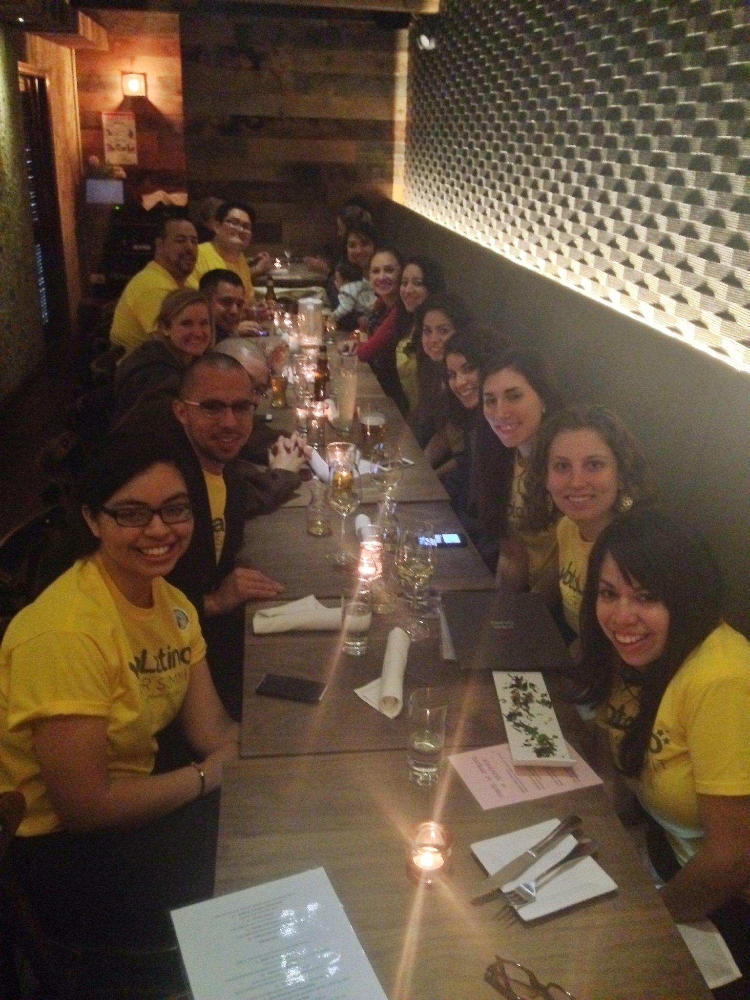 Team dinner!
