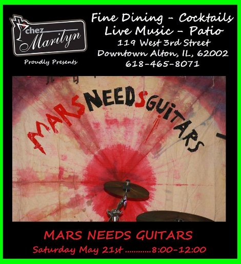 Mars Needs Guitars 5-21-16