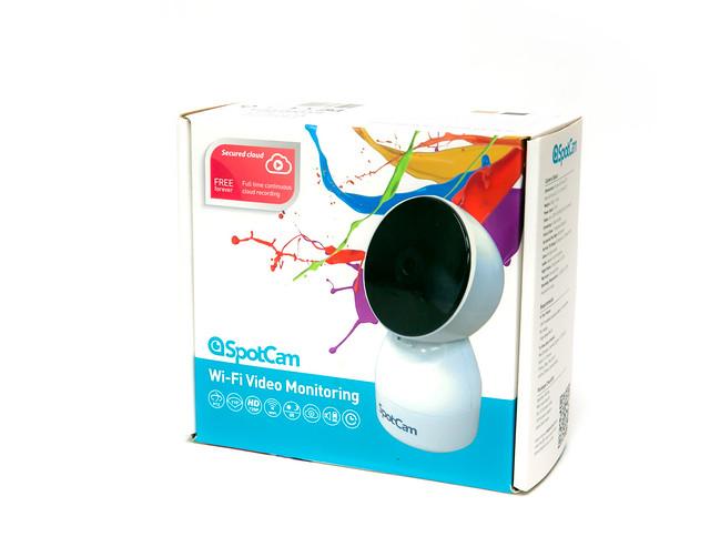 無死角!可控制旋轉的 SpotCam HD Eva 可擺頭雲端監視器 @3C 達人廖阿輝