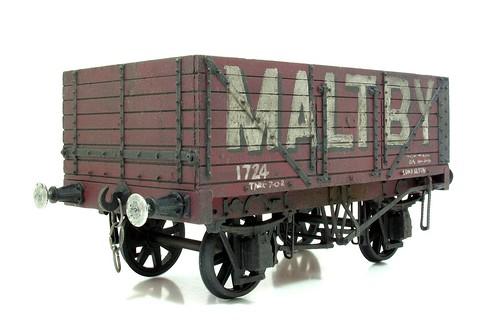 S gauge wagon