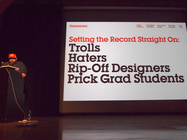 AIGA/NY Aaron Draplin: Tall Tales from a Large Man