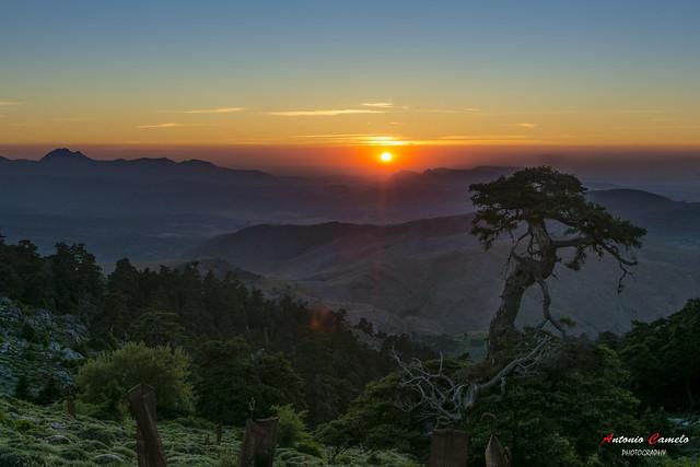 Sunset in Torrecilla.