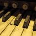 Methodist Central Hall Organ Keys