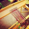 First weaving project ready to go!