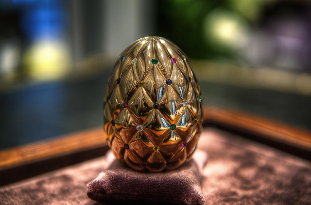 The Prize - Fabergé Golden Egg