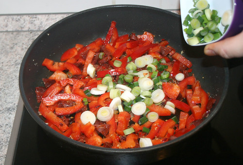 26 - Frühlingszwiebeln addieren / Add spring onions