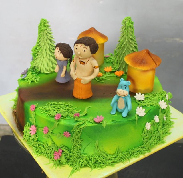 Birthday Cake Images Chota Bheem ~ Chotta bheem theme cake a photo on flickriver