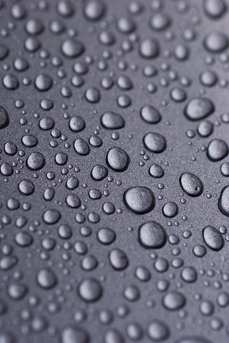 Picture of water droplets