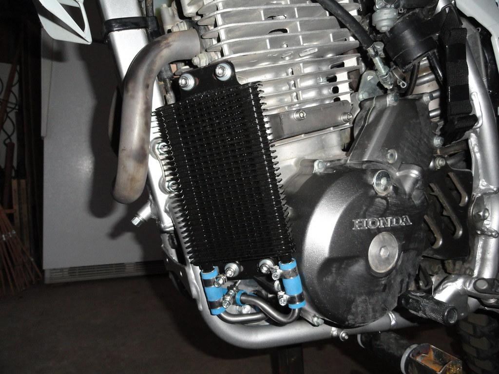 Xr650l Oil Cooler : Xr l oil cooler power outlet page advrider
