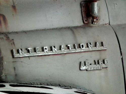International AR-160 truck