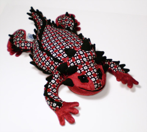 Horned Lizard Plush