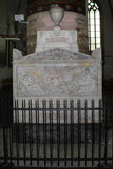 Grave in the St Bavo Church, Haarlem, The Netherlands