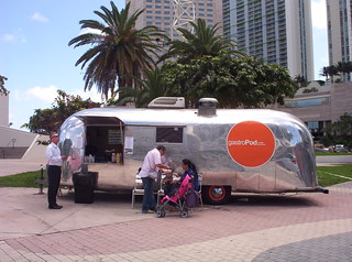 gastroPod Airstream Food Truck Downtown Miami