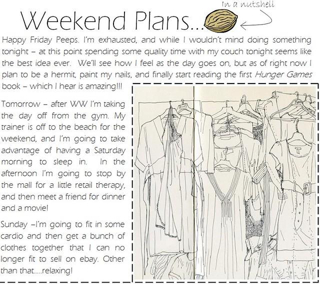 Weekend plans 3.2.12