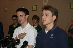 Beren Academy basketball team members